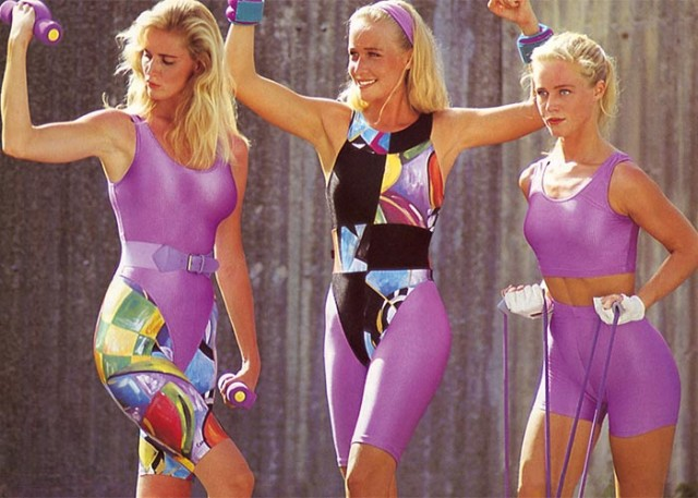 80s gym fancy dress