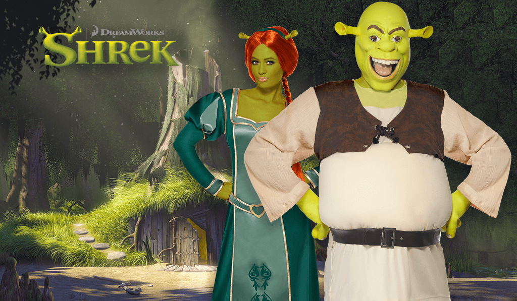 Shrek fancy dress costumes