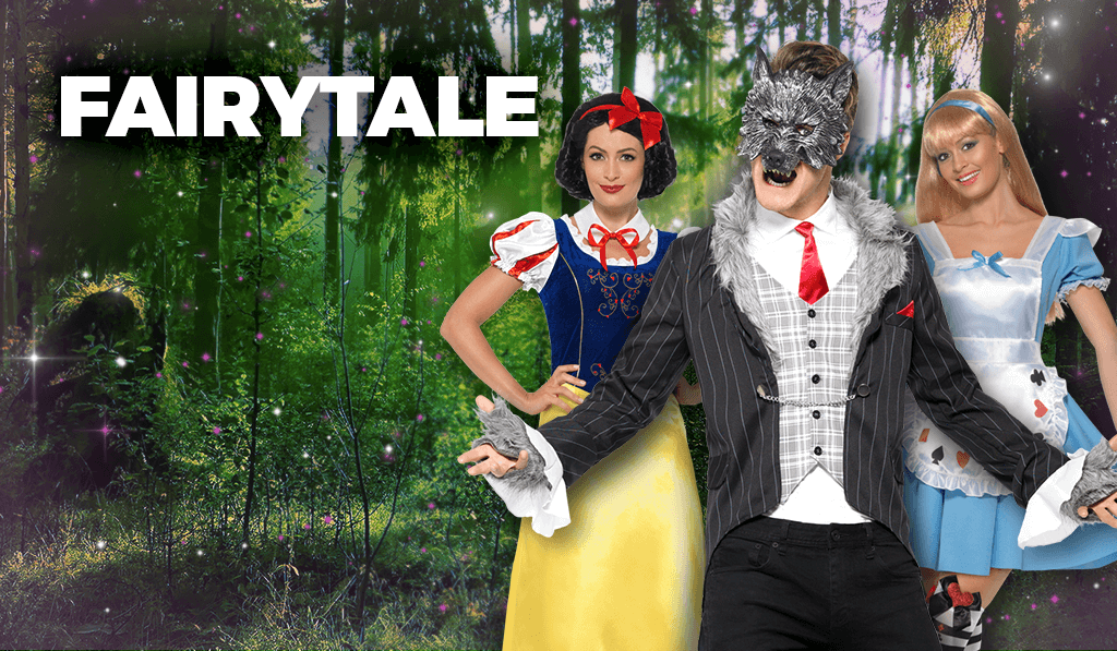 Fairy tale fancy dress costumes
