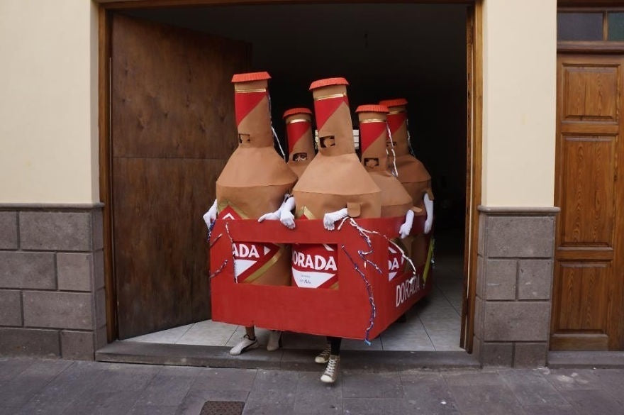 beer fancy dress costume
