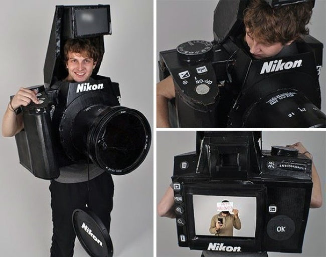 camera fancy dress costume
