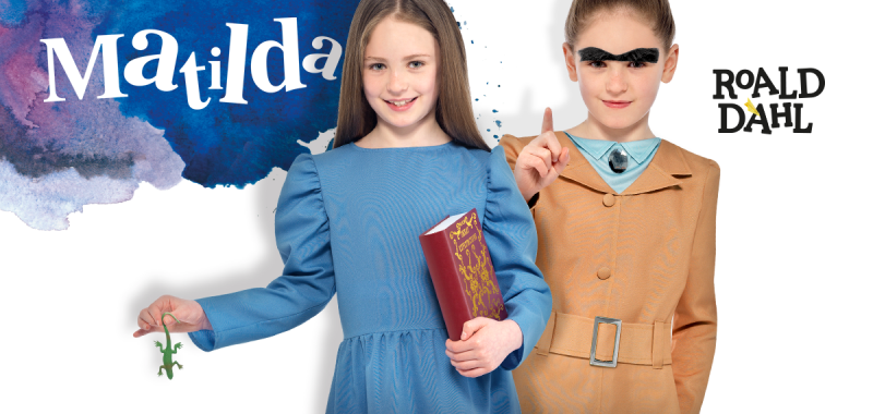 Roald Dahl Matilda fancy dress costumes