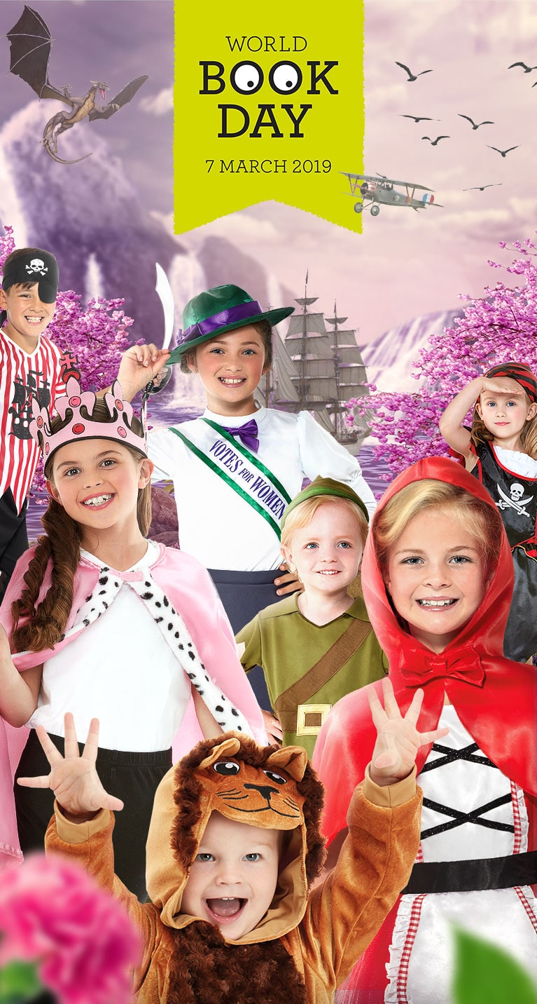 8d4ff0d4a World Book Day Costumes | Smiffys