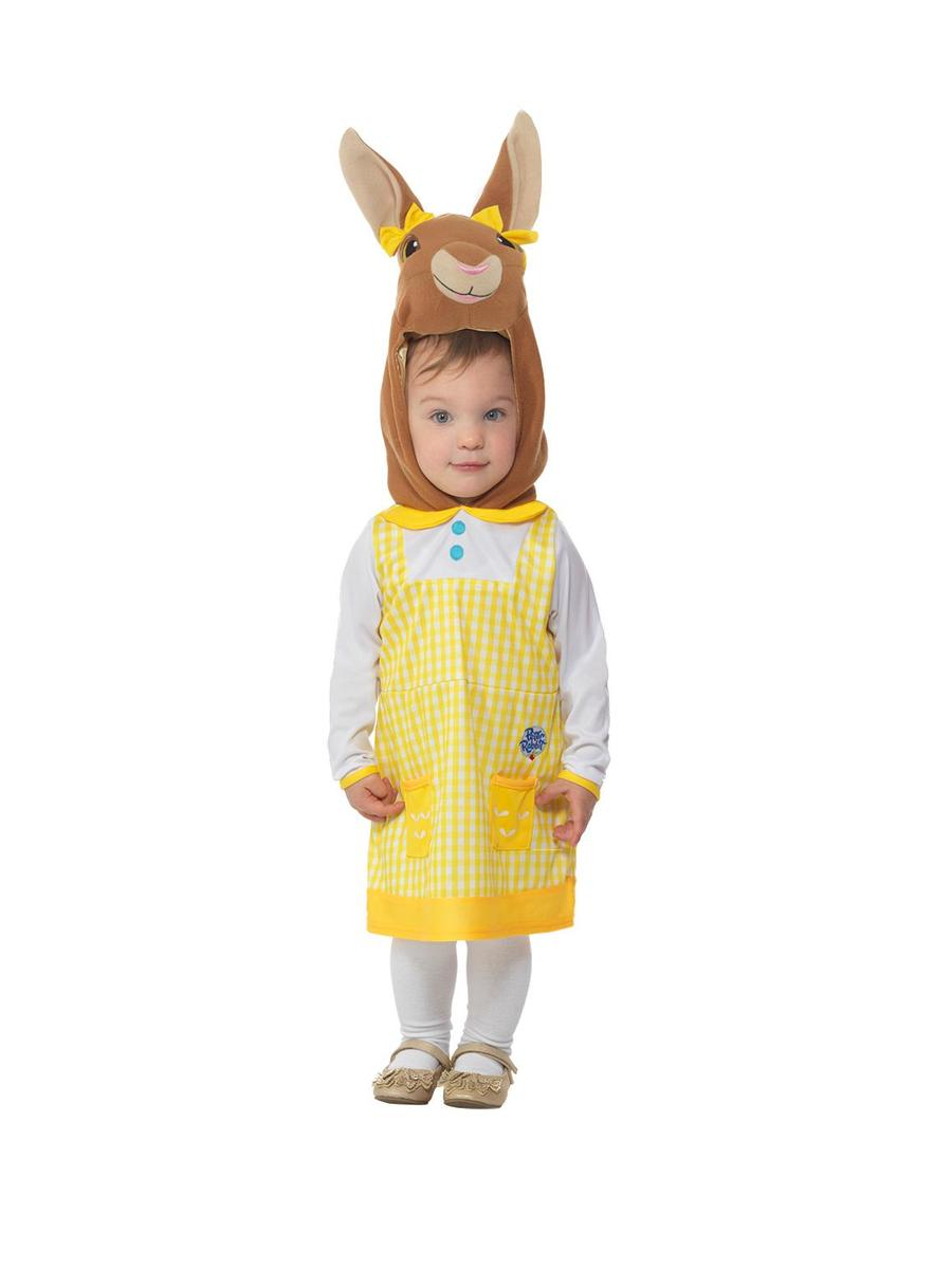 Girls Peter Rabbit Show Lily Bobtail Character Fancy Dress Costume Kids Toddlers