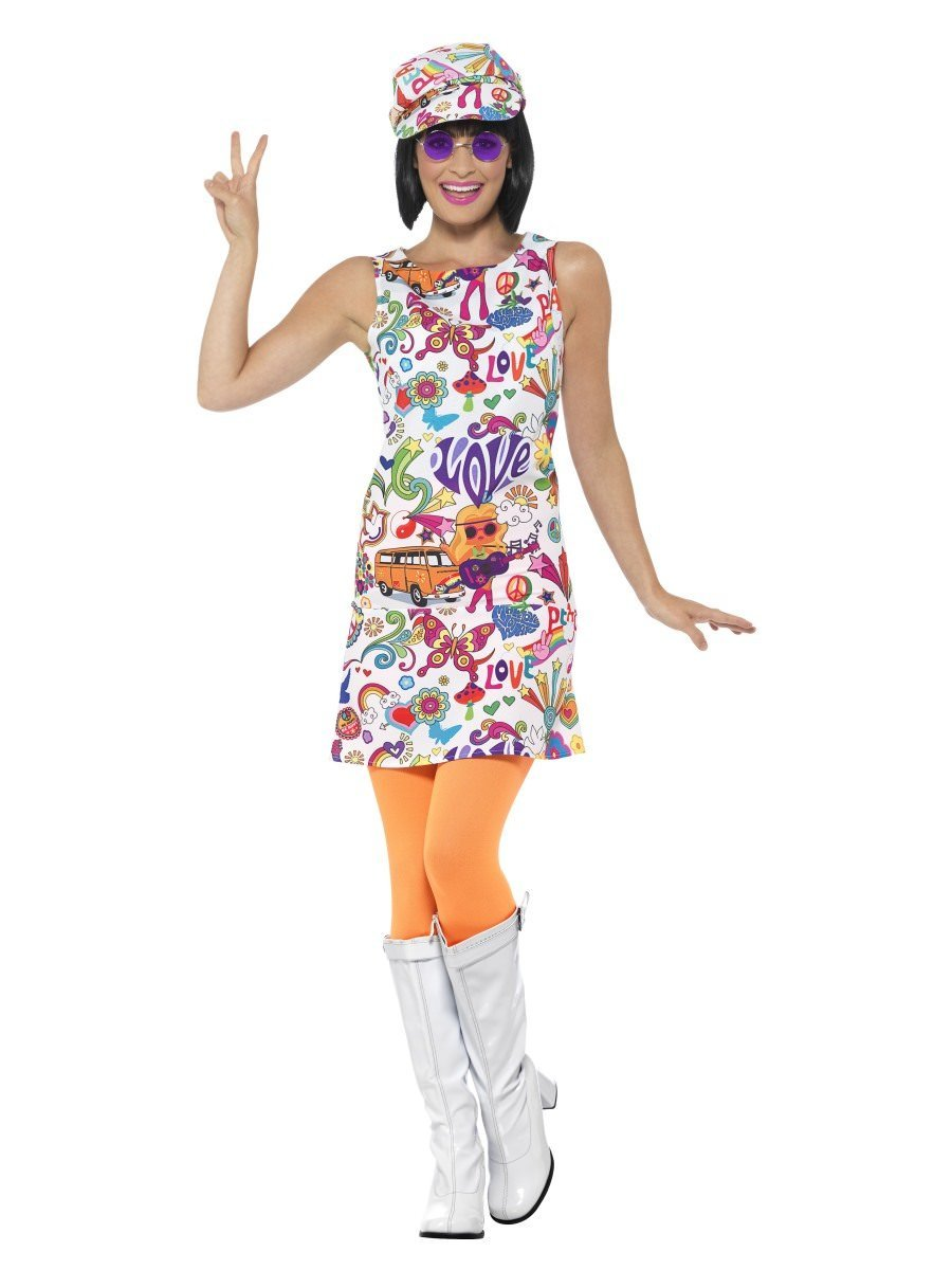 60s Groovy Chick Costume  sc 1 st  1960s Costumes | Smiffys.com - Smiffys Fancy Dress & 1960s Costumes | Smiffys.com - Smiffys Fancy Dress