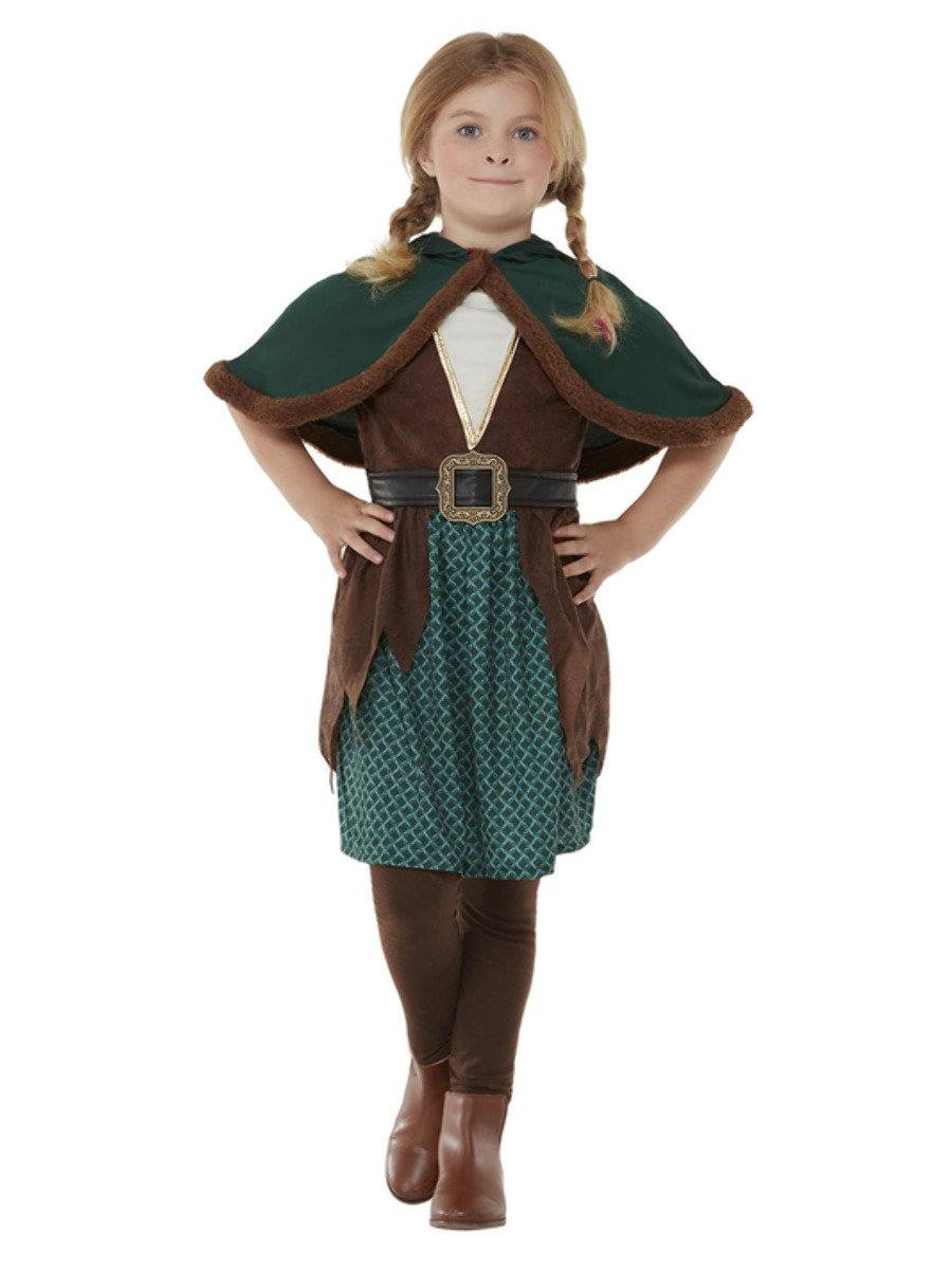 Robin Hat Hood Green Red Sherwood Fancy Dress Forest Outlaw Stag Do Merry Men