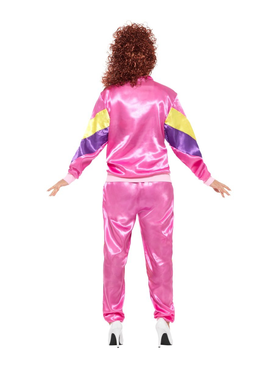 Smiffys Womens 80s Height Of Fashion Shell Suit Costume