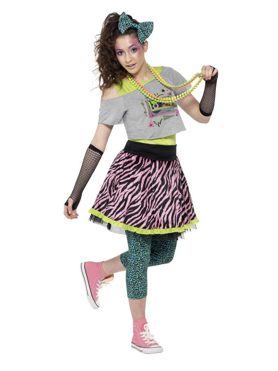 80s Wild Child Costume Multi-Coloured  sc 1 st  Smiffys.com & Kids Costumes | Smiffys.com - Smiffys Fancy Dress