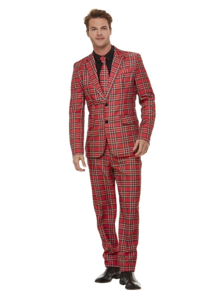 Mens Union Jack Flag Stand Out Suit Fancy Dress Stag Do Party Costume Outfit