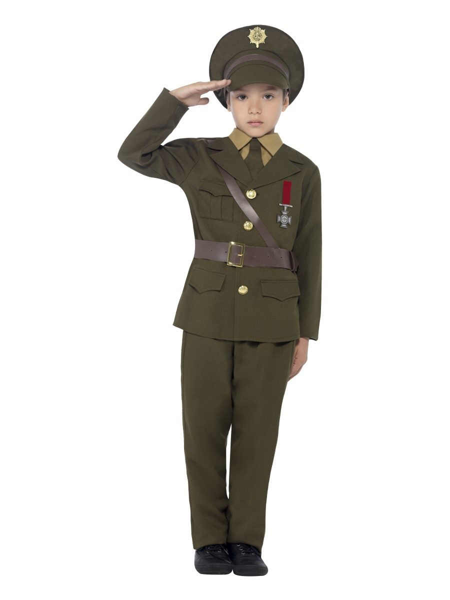 98d0534fa11 Army Officer Costume
