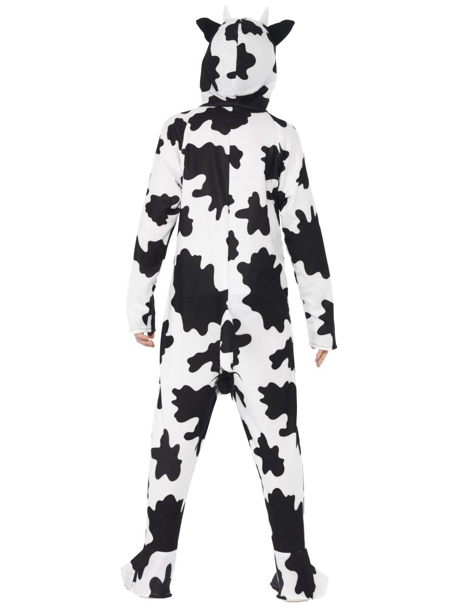 cow costume with hooded all in one child smiffys smiffys Sports Costumes Women cow costume with hooded all in one child alternative view 4