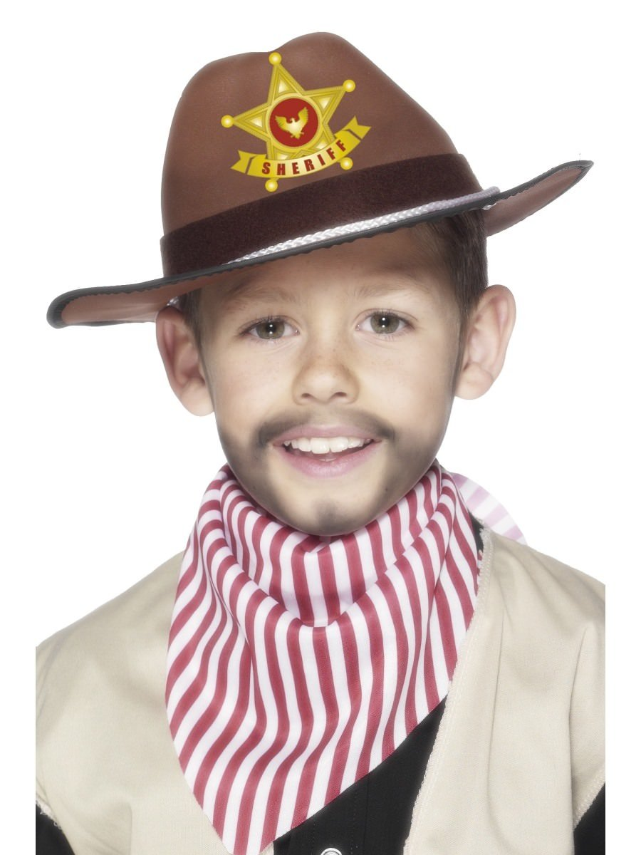 cab370076f3 Cowboy Hat with Sheriff Badge