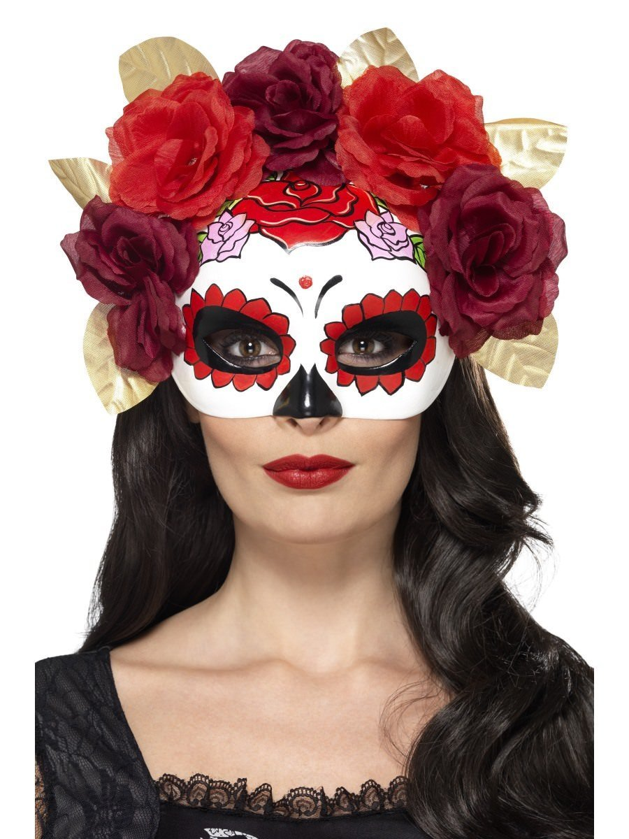 Day of the Dead Rose Eyemask