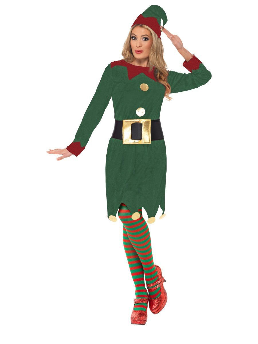 Christmas Elf Costume.Elf Costume With Dress Belt