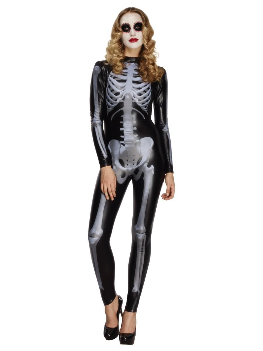 ead8119931 Fever Miss Whiplash Skeleton Costume