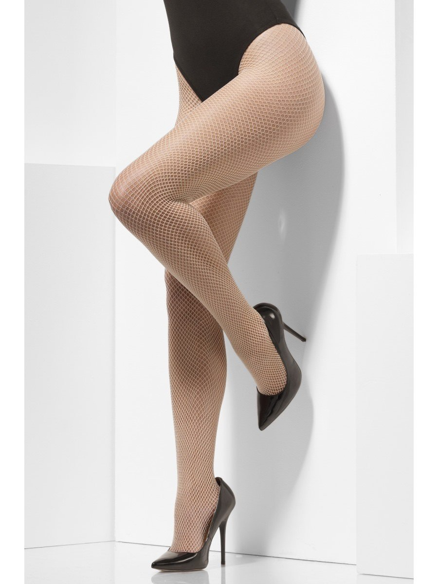 1e0805fc535c8 Fishnet Tights, Black, Crotchless | Smiffys