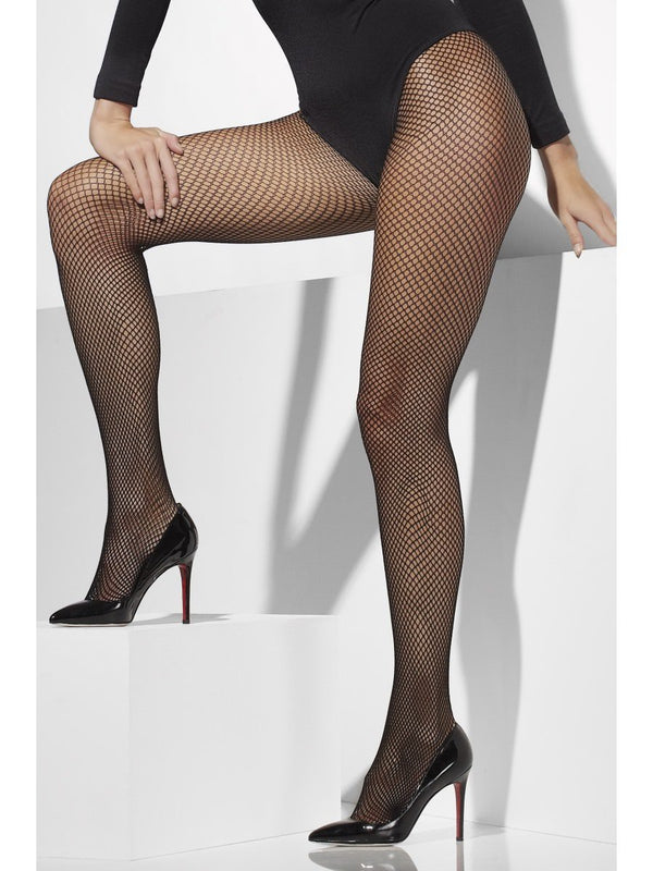 51e2681ddc29b Fishnet Tights, Black | Smiffys