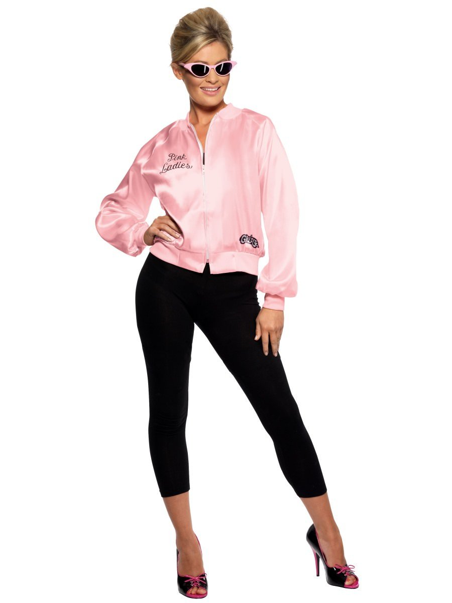 Grease Pink Ladies Jacket  sc 1 st  Smiffys.com & Grease Costumes | Smiffys.com - Smiffys Fancy Dress