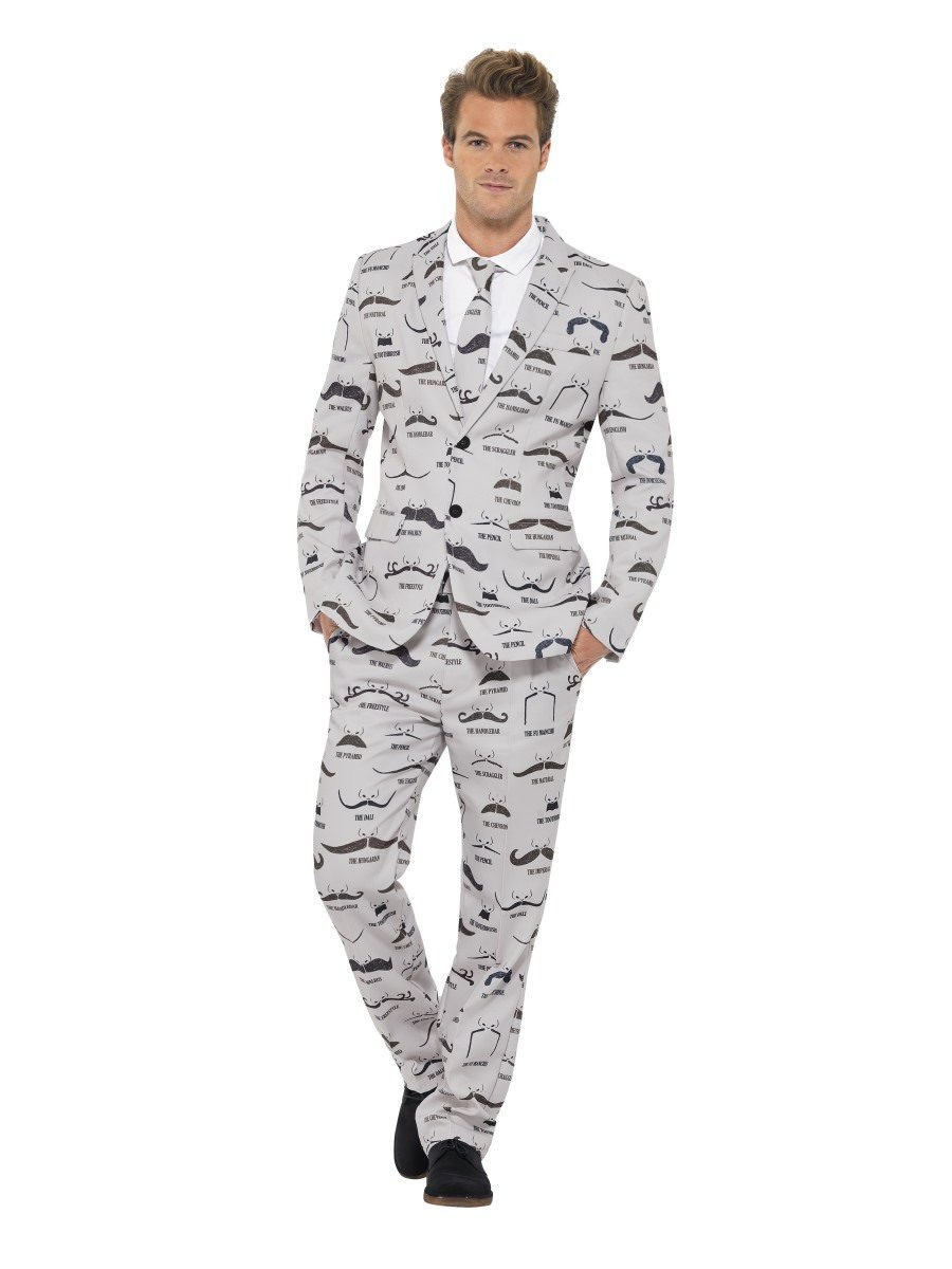 Smiffys Mens Humbug Suit with Jacket Trousers and Tie