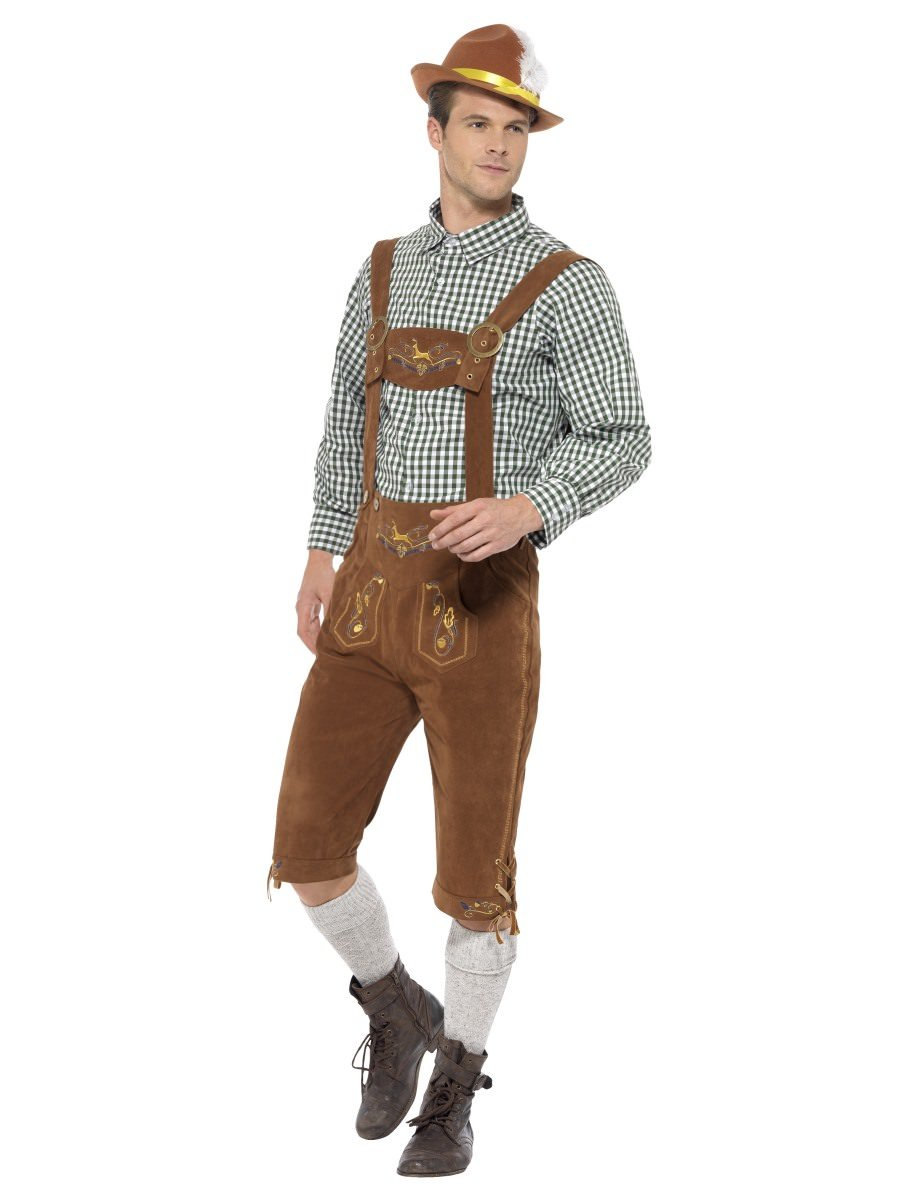 d2c35a4614f Traditional Deluxe Hanz Bavarian Costume | Smiffys