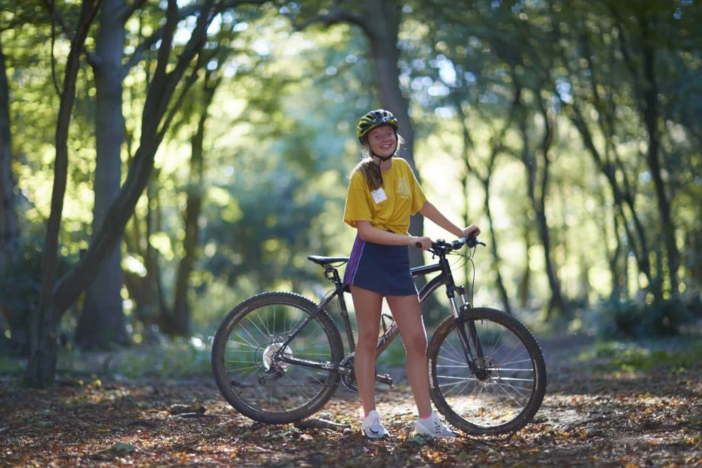 Haileybury School Children Go Mountain Biking