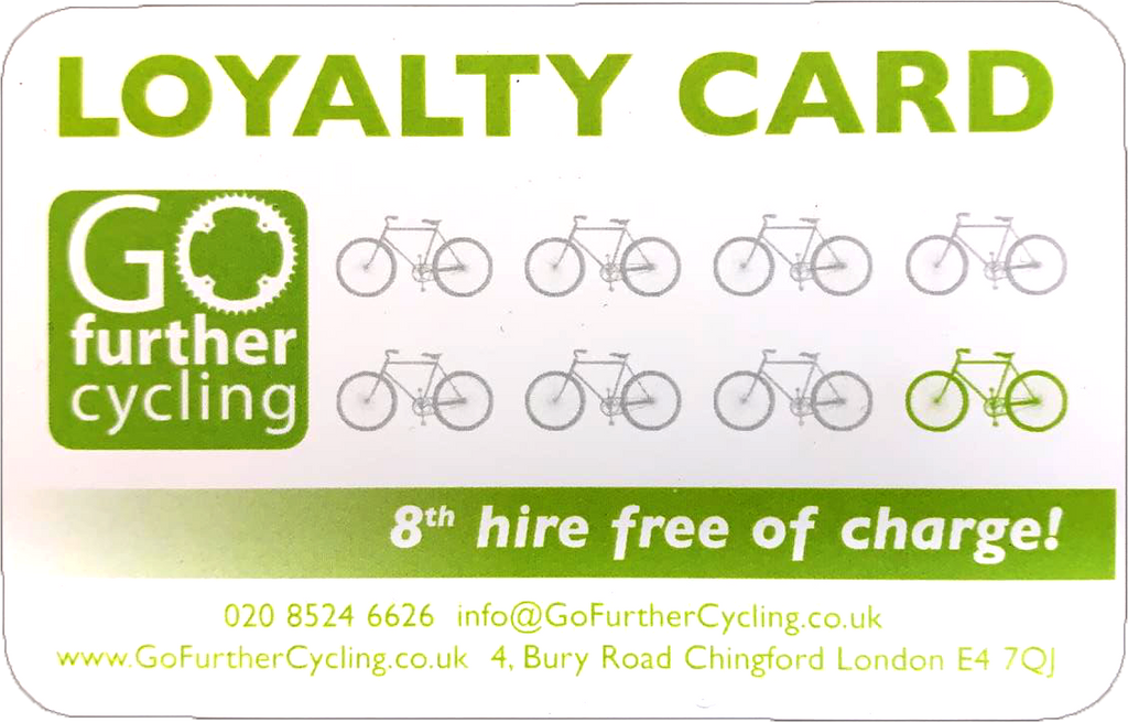 bicycle loyalty card