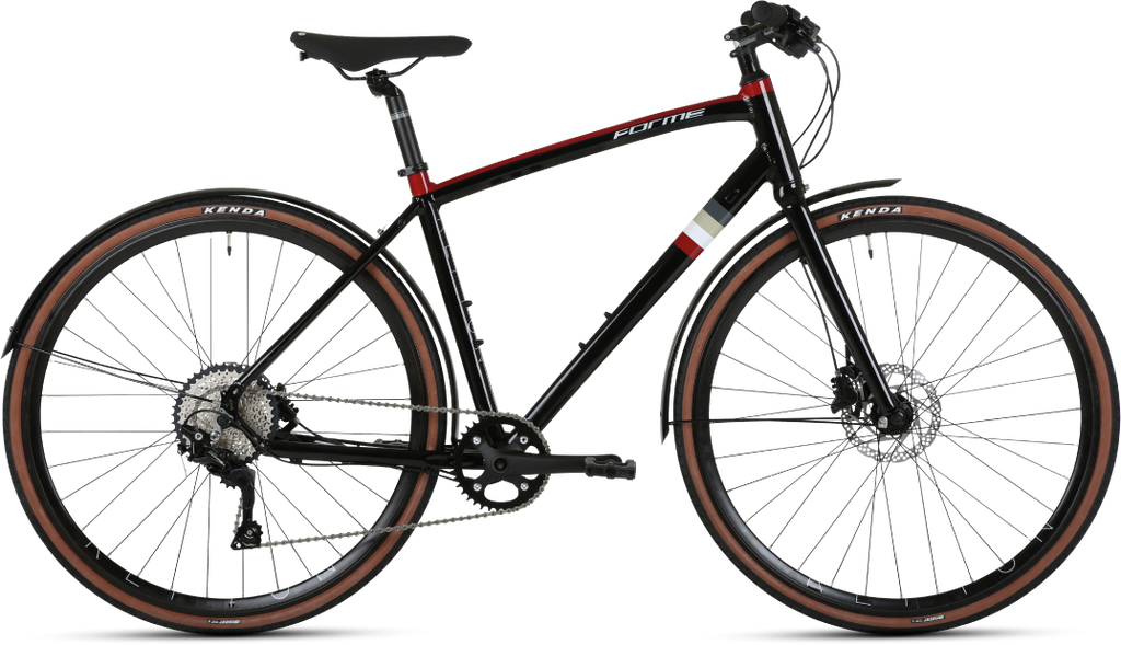 Forme Repton 1 Hybrid Bike  Black 19""