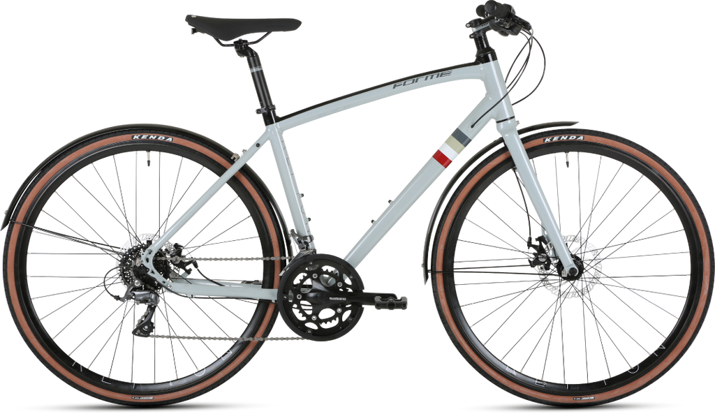 Forme Repton 2 Hybrid Bike  Grey 19""