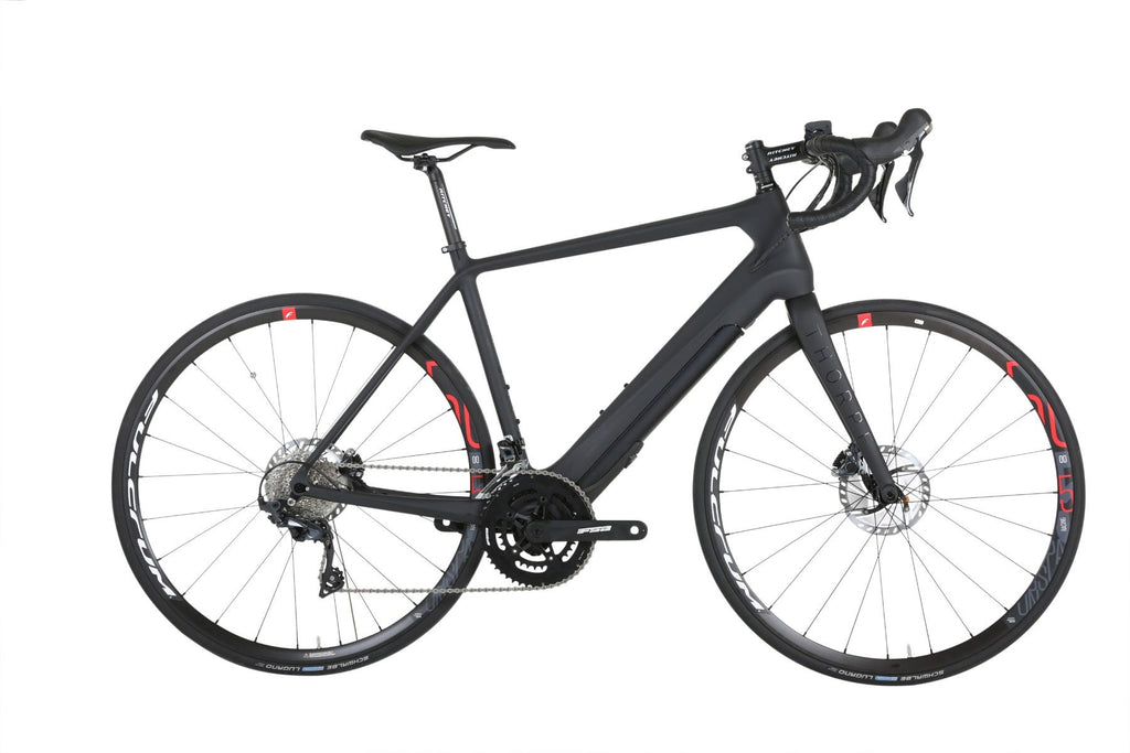 Forme Thorpe E Road e-Bike Black 44cm