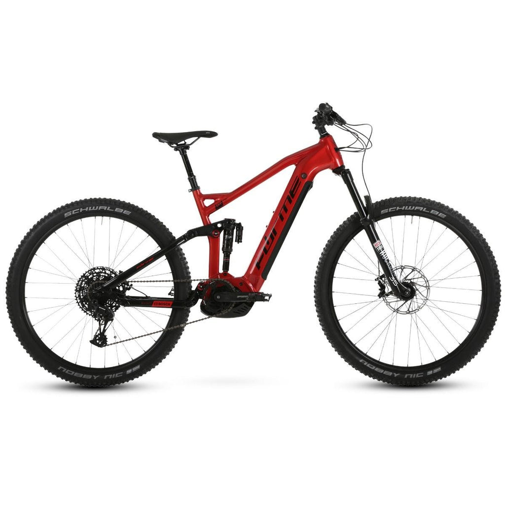 "Forme Black Rocks FSE 29"" e-Bike Red/Black 48cm"