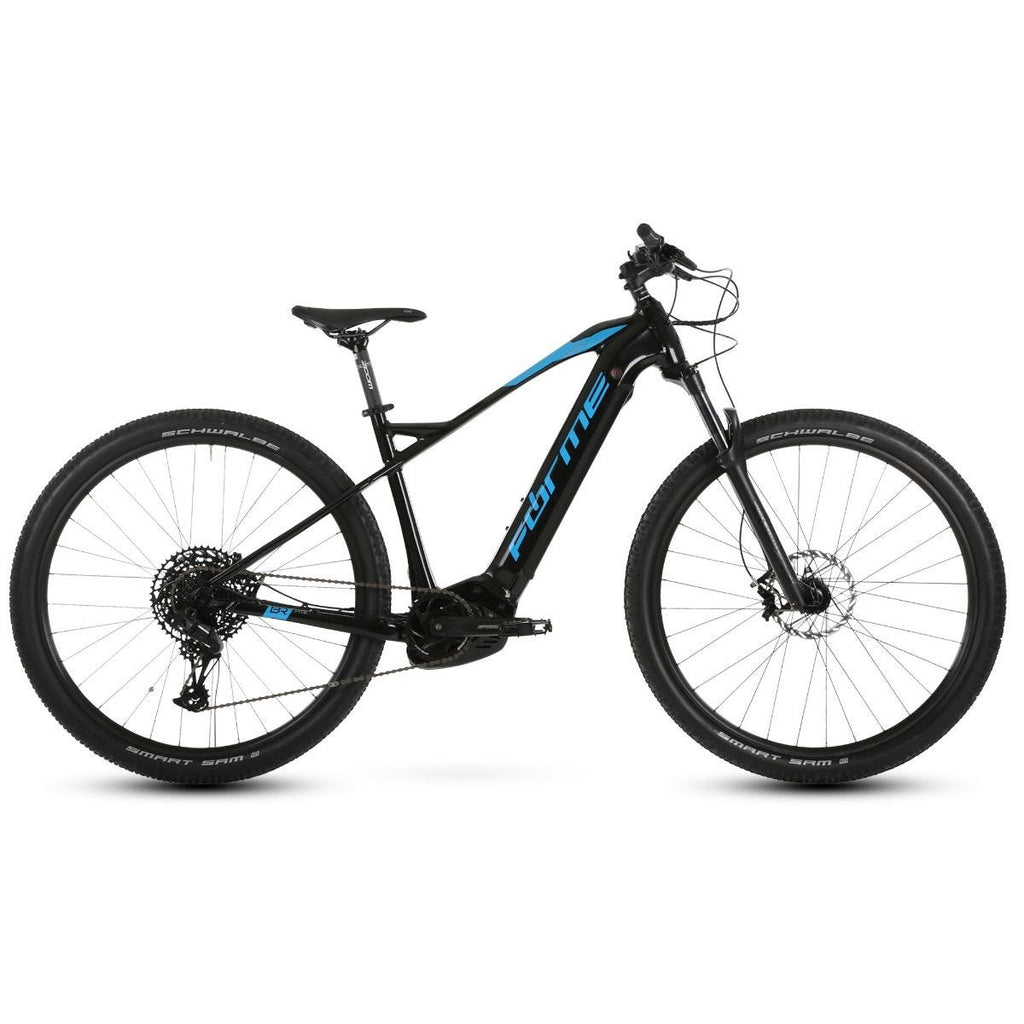 "Forme Rocks HTE 29"" e-Bike Black/Blue 50cm"