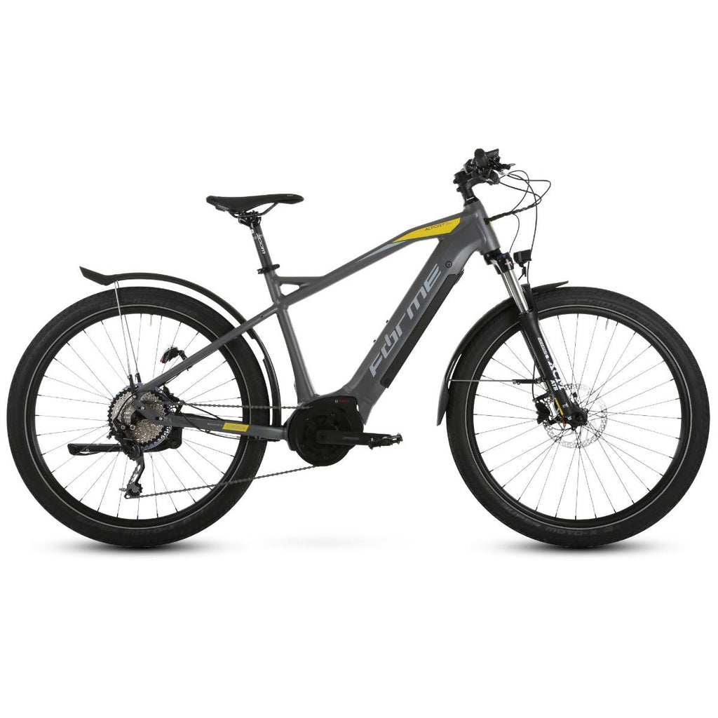 "Forme Alport HTE Urban 27.5"" e-Bike  Grey/Yellow 43cm"