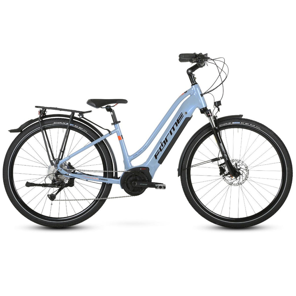 Forme Peak Trail 1 ELS 700c e-Bike  Blue 51cm
