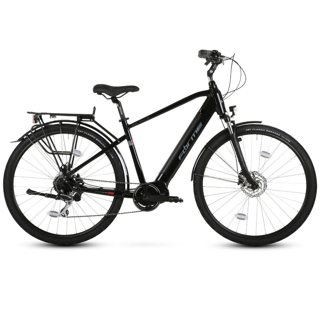 Forme Peak Trail 2 E 700c e-Bike  Black 43cm