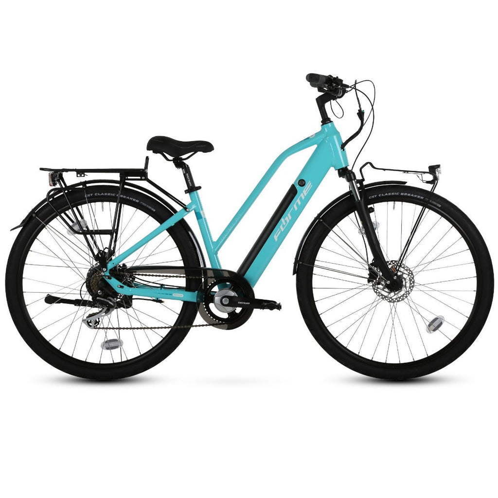 Forme Peak Trail 3 ELS e-Bike 700c Teal 43cm