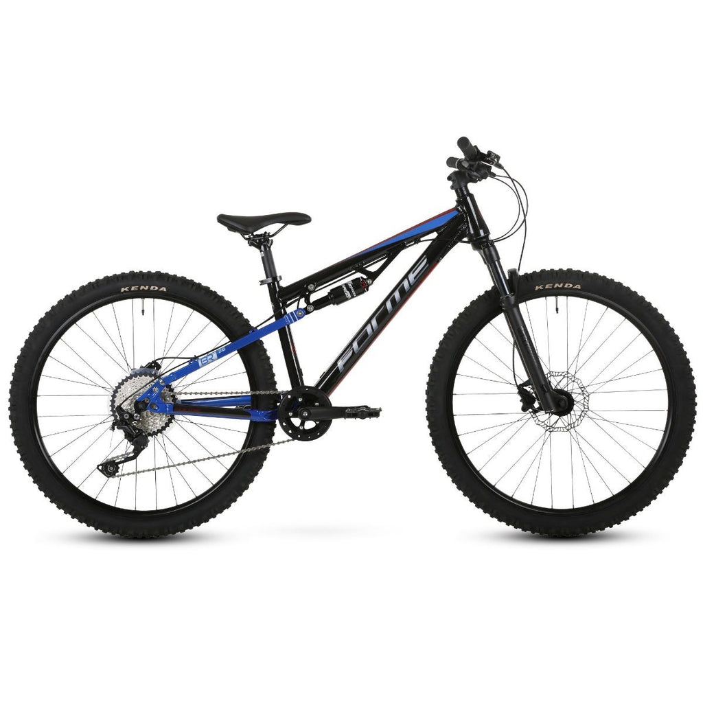 "Forme Rocks Junior 26"" Full Suspension Bike  Black/Red/Blue 26"""