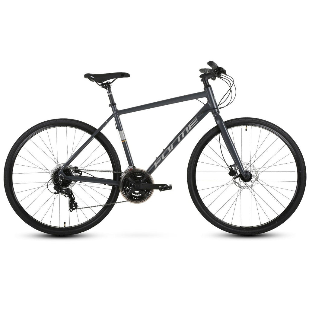 Forme Winster 1 Gents 700c Hybrid Sport Bike Grey 18""