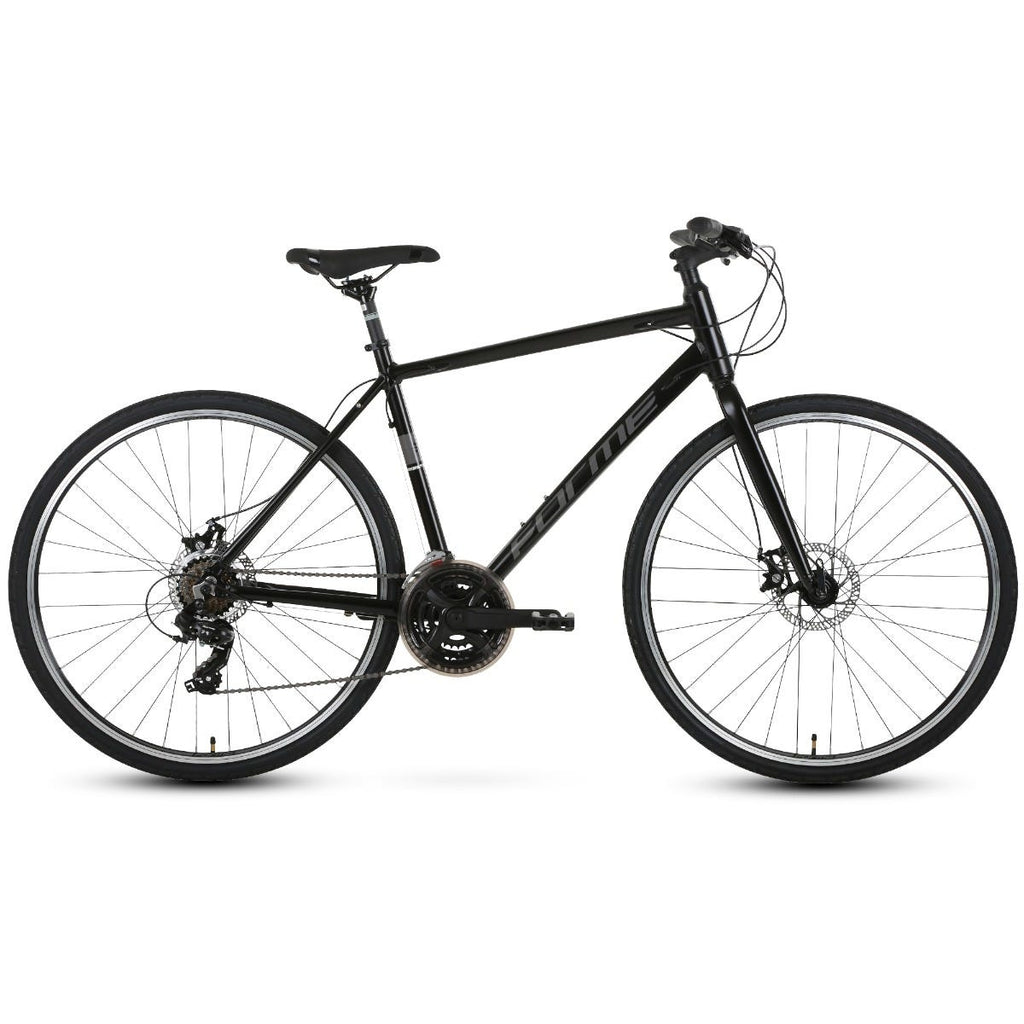 Forme Winster 2 Gents 700c Hybrid City Bike Black 18""