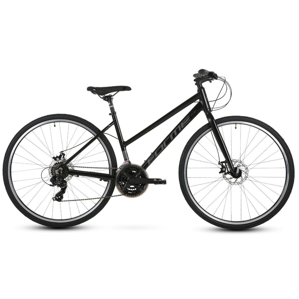 Forme Winster 2FE Ladies 700c Hybrid City Bike Black 19""