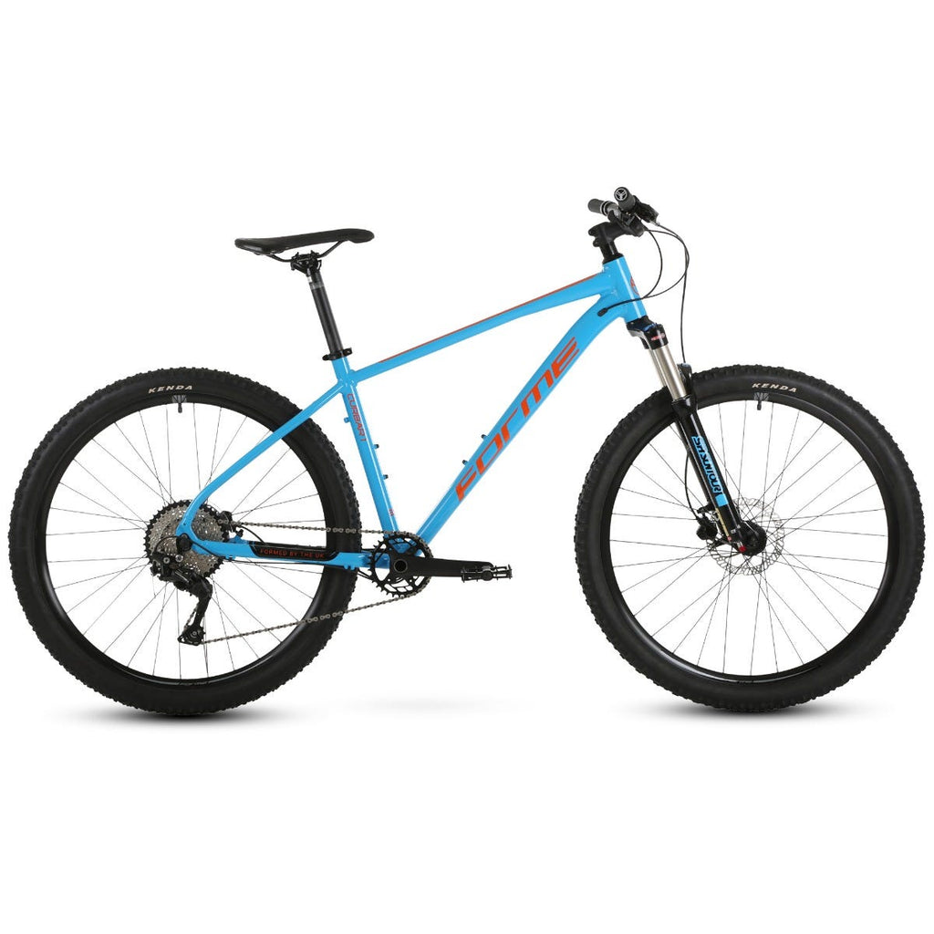 "Forme Curbar 1 27.5""  MTB Blue/Orange 14"""