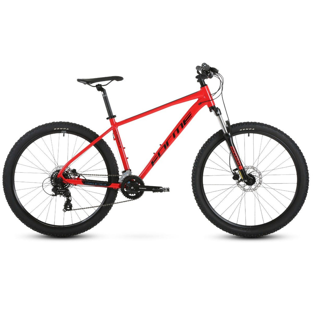 "Forme Curbar 3 29"" MTB Red/Blue 21"""