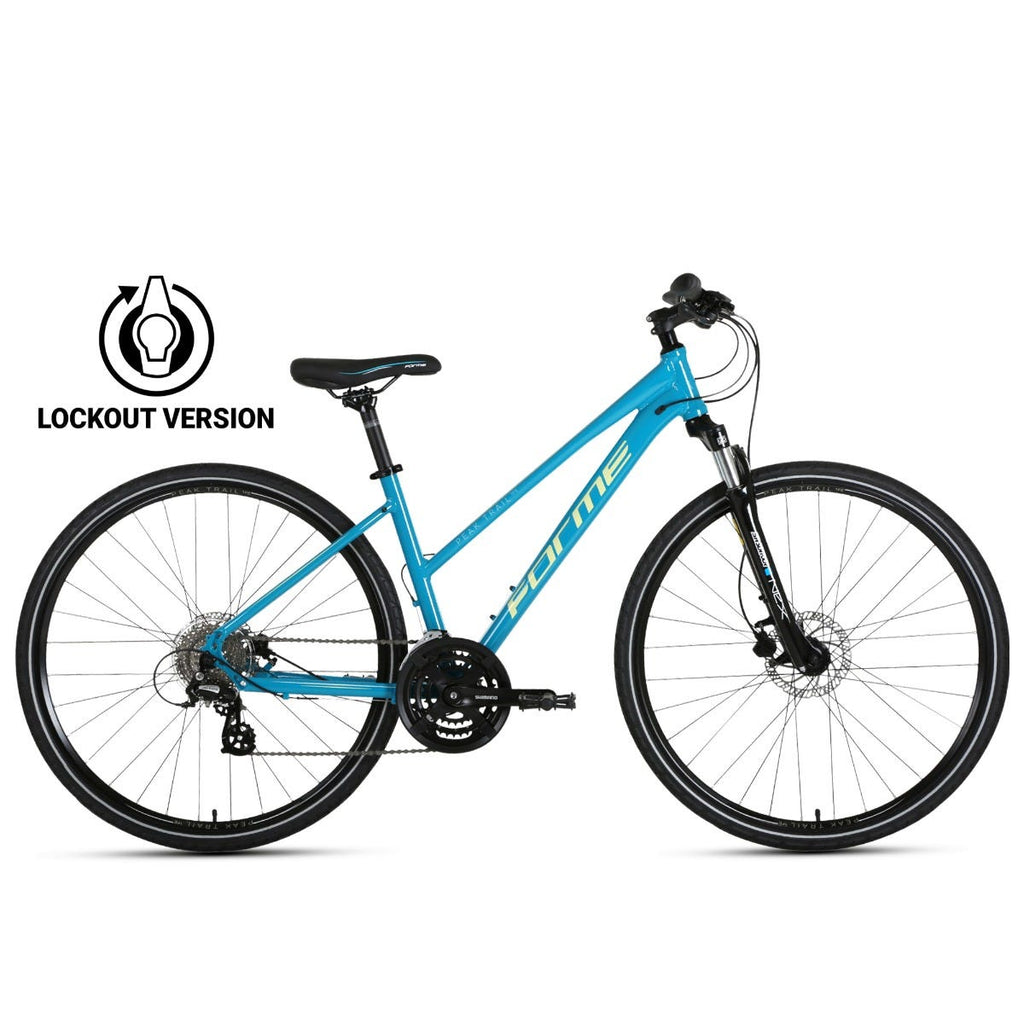Forme Peak Trail 1FE Lock Out Ladies  Blue 17.5""