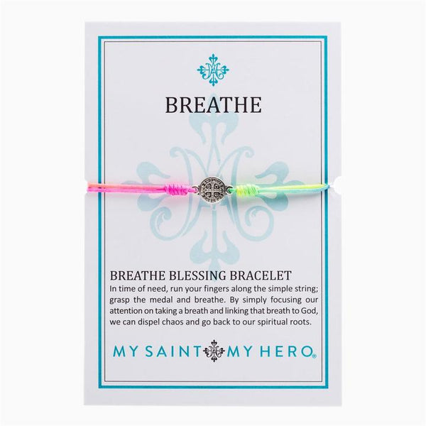 New Day Rainbow Breathe Blessing Bracelet