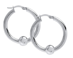 CAPE COD 26MM HOOP EARRING