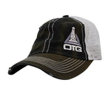 Distressed Oilfield Trash Hat