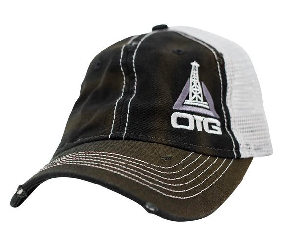 Oil Trash GearOilfield Trucker/'s Hat -/> Favorite Hat of Oilfield Workers!