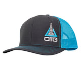 Blue Oilfield Hat
