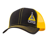 Orange Hi Viz Oilfield Hat