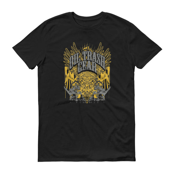 Oilfield Angel Black Tee | Oil Trash Gear