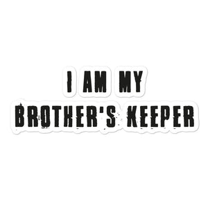 My Brother's Keeper Sticker